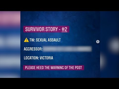 Anonymous Instagram page exposing alleged sexual predators - BC News