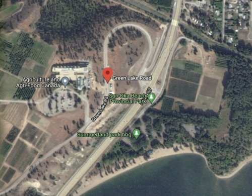 Vechile incident closes Highway 97 and North Green Lake Road (Penticton)