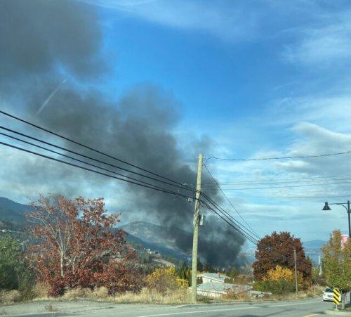 Structure fire on Horizon Drive in West Kelowna (West Kelowna)