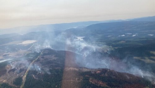 Strong winds and hotter weather a cause for concern on Brenda Creek fire (West Kelowna)