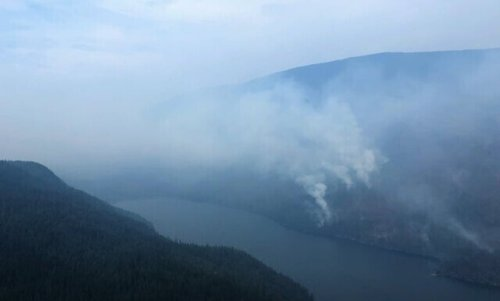 Hunakwa wildfire at Seymour Arm grows to 2,000 hectares (Salmon Arm)
