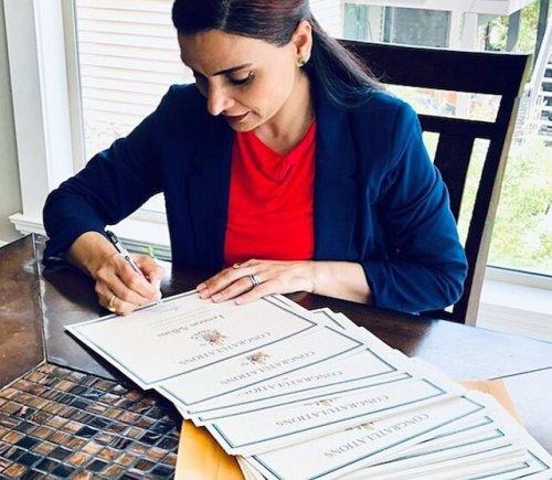 MLA Harwinder Sandhu signs congratulations for 670 North Okanagan grads - Vernon News