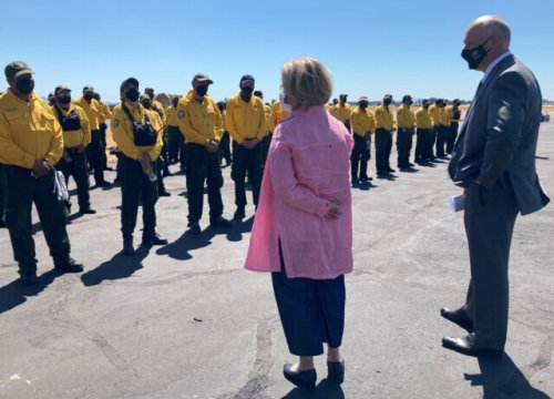 Mexican firefighters destined to help bolster crews battling the Nk'Mip wildfire - Penticton News