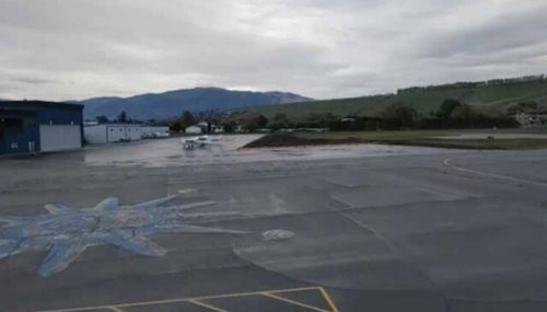 Vernon city council's Airport Apron and Rehabilitation project was completed on Oct. 15 (Vernon)
