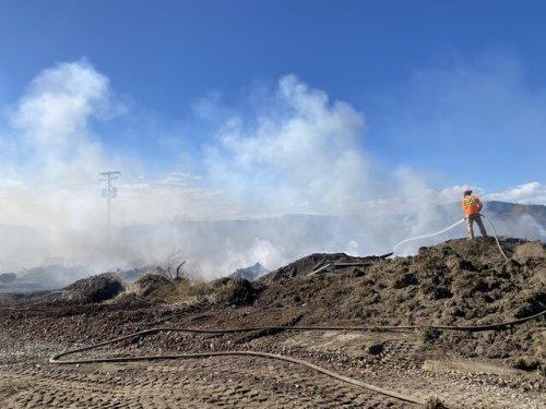 Fire crews responding to blaze near Kootenay Way, one of four in area since Sunday evening - Kamloops News