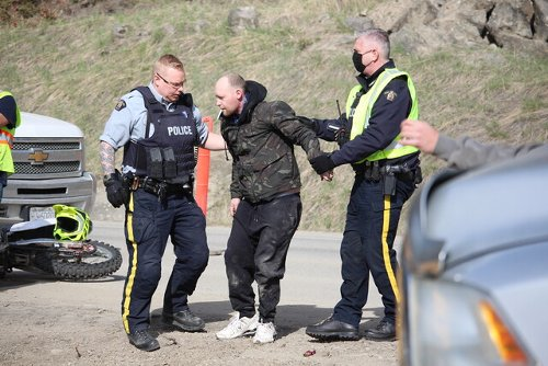 Police allege motorcyclist who blew through West Kelowna construction zone was impaired (West Kelowna)