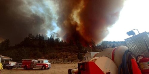 BC Wildfire Service expect to see an increase in fire behaviour for Nk'Mip Creek on Wednesday (Penticton)