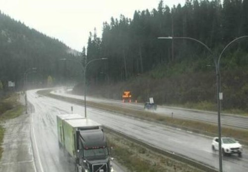 Up to 20 cm of snow to fall on Coquihalla Highway tonight - Kamloops News