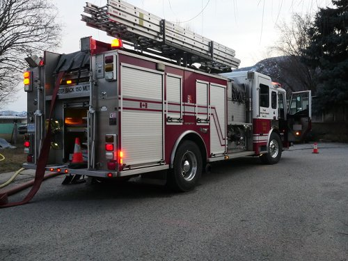 Two residents displaced after fire at Penticton apartment building (Penticton)