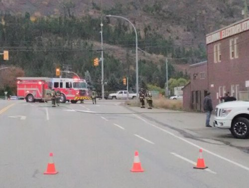 Crews called to fire inside business in West Kelowna