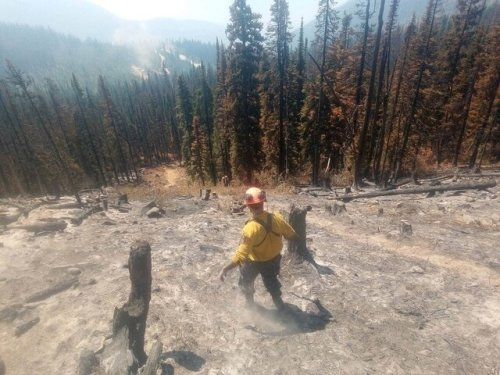 Area restriction lifts around Mount Law wildfire