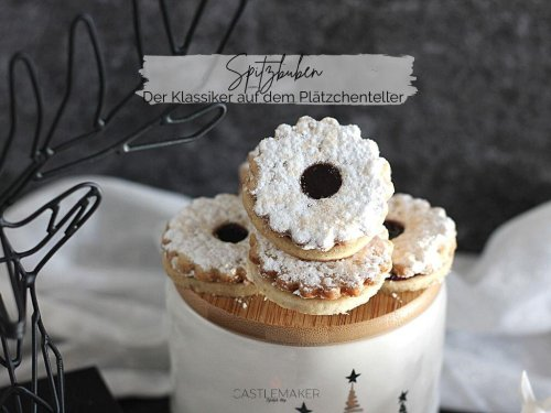 Spitzbuben - der Klassiker - so machst Du die Plätzchen mit Marmelade « Castlemaker Food & Lifestyle Magazin