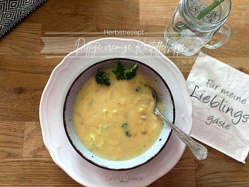 Super cremige Kartoffelsuppe - deftig mit Lauch & Speck « Castlemaker Food & Lifestyle Magazin