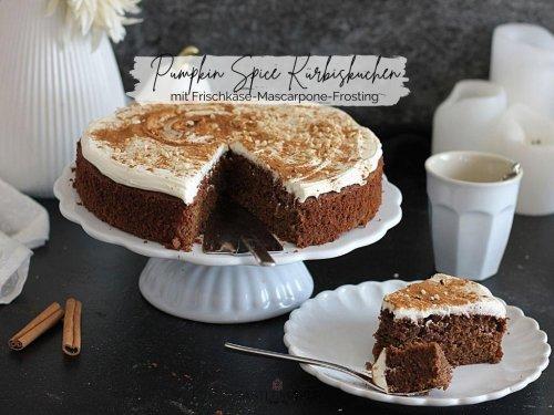 Super saftiger Pumpkin Spice Kürbiskuchen mit Frischkäse-Mascarponefrosting « Castlemaker Food & Lifestyle Magazin