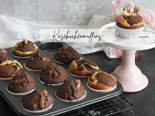 Schnelle leckere Käsekuchenmuffins mit Schokolade - Cheesecake Muffins « Castlemaker Food & Lifestyle Magazin