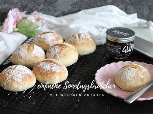Einfache helle Sonntagsbrötchen mit wenigen Zutaten « Castlemaker Food & Lifestyle Magazin