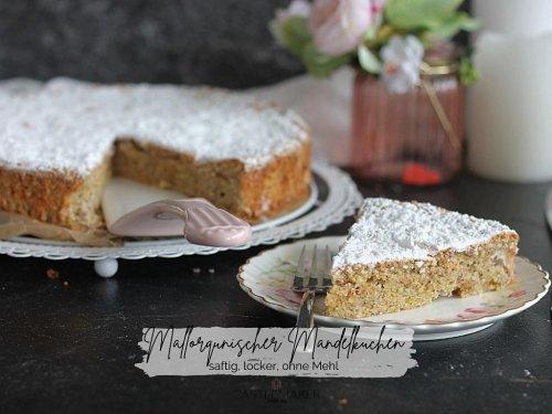 Super saftiger einfacher Mallorquinischer Mandelkuchen – ohne Mehl