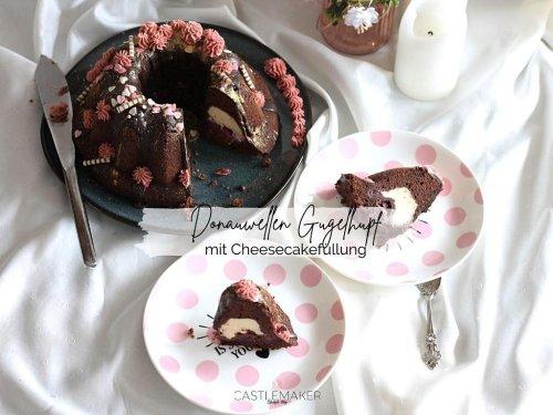 Super schokoladiger Donauwellen-Gugelhupf mit Cheesecakefüllung « Castlemaker Food & Lifestyle Magazin