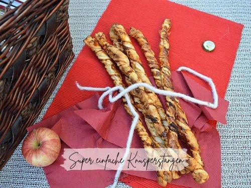 Super einfache Knusperstangen - perfekt für unterwegs - ratz-fatz fertig « Castlemaker Food & Lifestyle Magazin