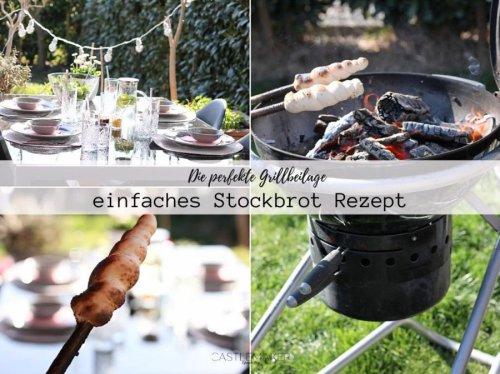 Super einfaches Stockbrot Rezept - Tischambiente mit KLiNGEL Living « Castlemaker Food & Lifestyle Magazin