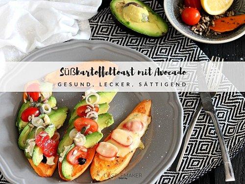 Süßkartoffeltoast mit Avocado – überraschend lecker & vegetarisch