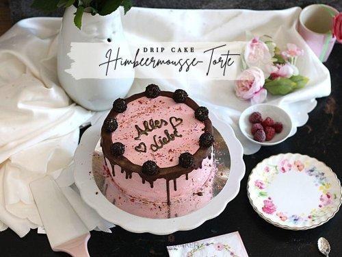 Super leckere Himbeermoussetorte als Drip Cake - Alles Liebe Geburtstagstorte « Castlemaker Food & Lifestyle Magazin