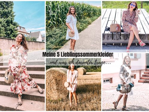 5 beliebte Sommerkleider und was ich darunter trage - Lieblingskleider « Castlemaker Food & Lifestyle Magazin