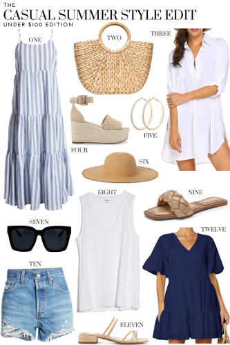 Casual Summer Style Edit