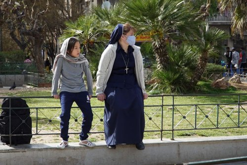 'What I can do is love': This Catholic sister is a missionary to refugees in Greece