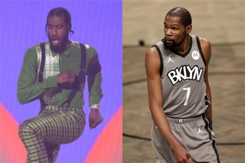 Kevin Durant marvels at Iman Shumpert's 'elite activity' during 'Dancing With the Stars' appearance
