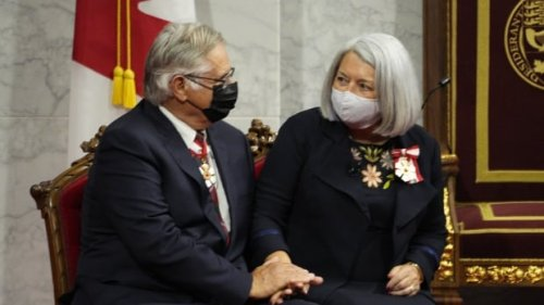 Mary Simon officially becomes Canada's first Inuk Governor General   CBC News