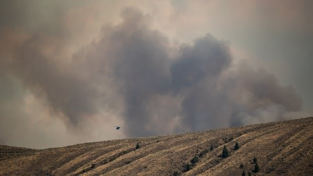 Fewer active fires in B.C. but threat still high in bone-dry southern regions
