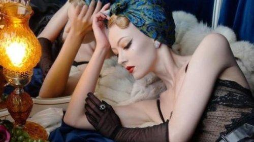 Sault artist's retro fashion photos featured in Vogue UK | CBC News