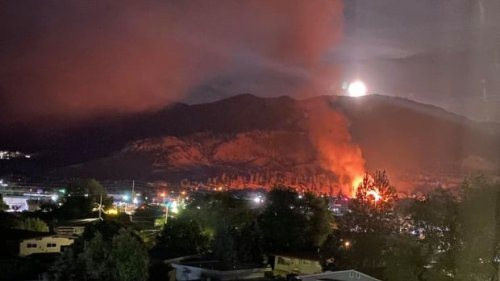 2 Catholic churches destroyed in overnight fires in B.C.'s Okanagan Valley   CBC News