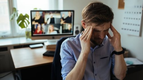 At home for a year, office workers complain of aches, pains and Zoom fatigue   CBC News