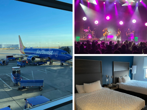 A Southwest Airlines mileage run, some chunky blues rock, and Denver