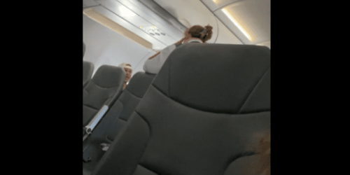 """Airplane Freakout: """"Don't talk to me like I am some kind of child!"""""""
