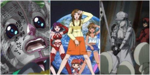 Top 10 Weirdest Anime Spin-Offs | CBR