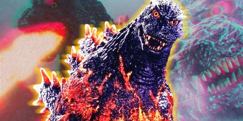 The Origin & Powers of Godzilla's Final Form, Burning Godzilla