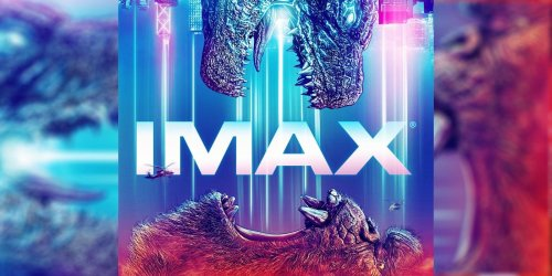 Godzilla and Kong's Worlds Collide in Epic IMAX Poster | CBR