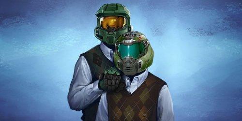 Xbox Celebrates Bethesda's Acquisition with Family Portraits