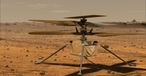 Software update planned to fix glitch with Ingenuity Mars helicopter