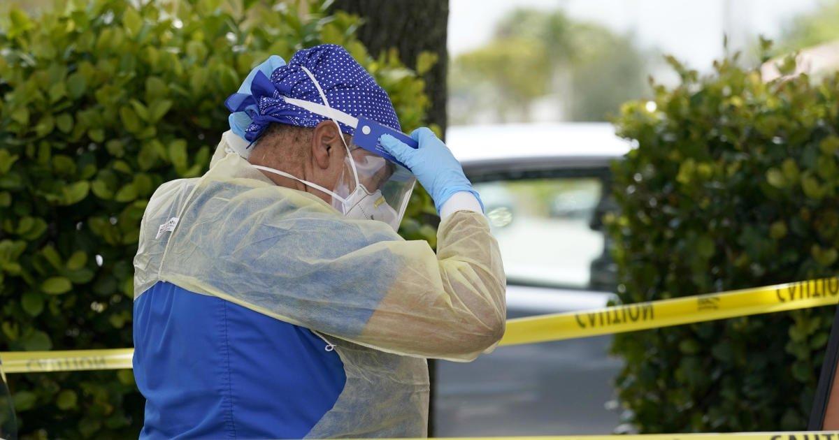 Florida breaks second alarming COVID-19 record