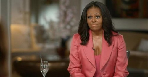Former first lady Michelle Obama reacts to Chauvin verdict