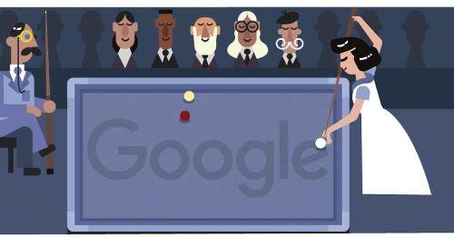Google Doodle honors female billiards trailblazer Masako Katsura