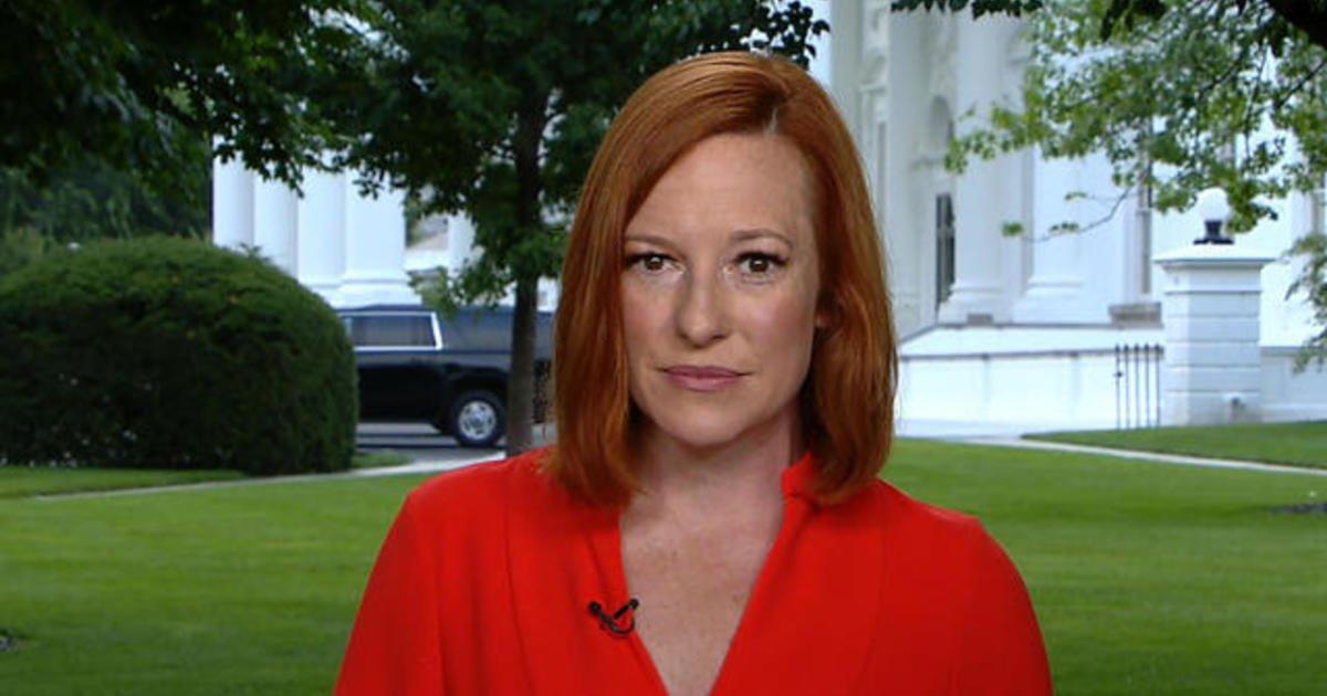 White House press secretary Jen Psaki on child tax credits, infrastructure negotiations
