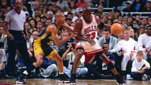Reggie Miller on what he'd say if Michael Jordan had recruited him: 'I would have told him to go f--- himself'
