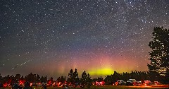 Discover the meteor shower tonight