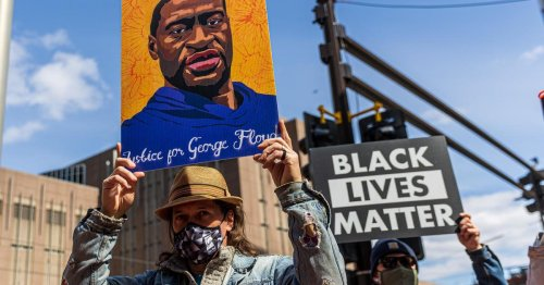 George Floyd family and civil rights leaders rally ahead of Derek Chauvin trial