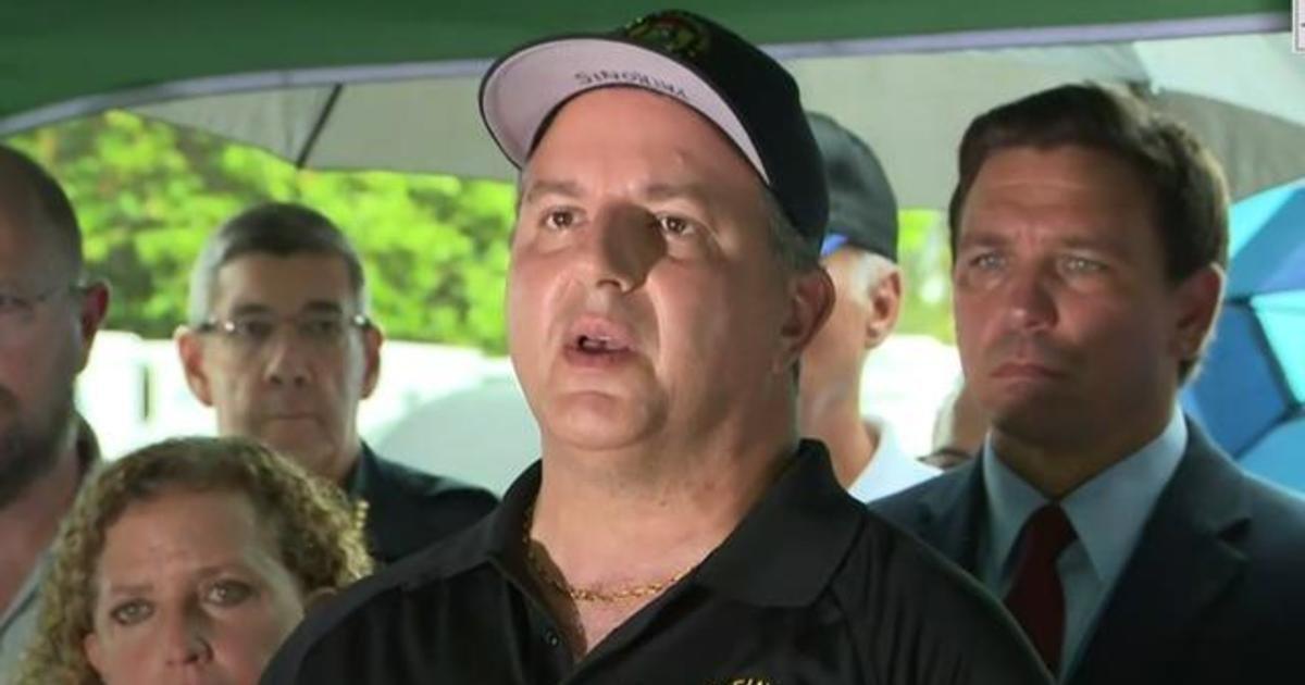 Florida emergency officials describe unprecedented response after building collapse